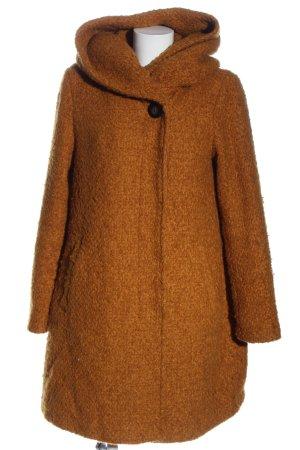 Vila Clothes Capuchon jas licht Oranje casual uitstraling
