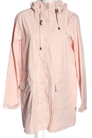 Vila Clothes Cappotto con cappuccio crema stile casual