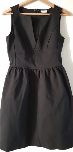 Vila Peplum Dress black