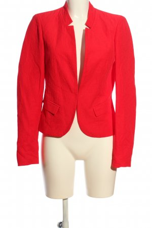 Vila Clothes Kurz-Blazer rot Business-Look
