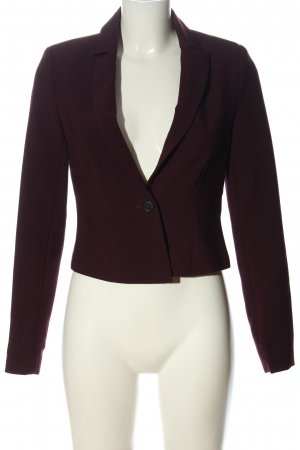 Vila Clothes Kurz-Blazer rot Casual-Look