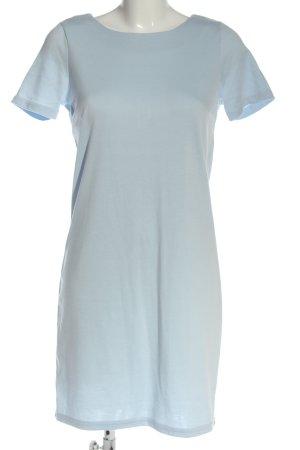 Vila Clothes Kurzarmkleid blau Business-Look