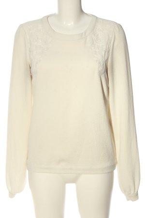 Vila Clothes Langarm-Bluse creme Casual-Look