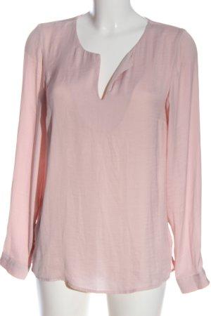 Vila Clothes Langarm-Bluse pink Business-Look