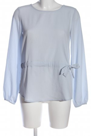 Vila Clothes Langarm-Bluse blau Elegant