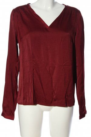Vila Clothes Langarm-Bluse rot Casual-Look
