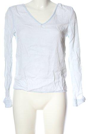 Vila Clothes Langarm-Bluse weiß Casual-Look