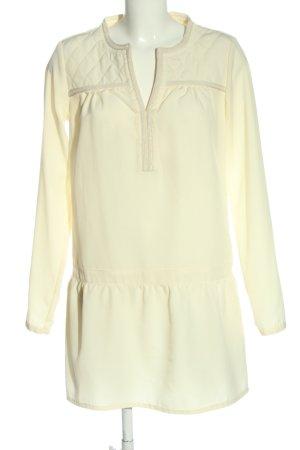 Vila Clothes Langarmkleid blassgelb Casual-Look