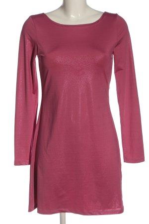 Vila Clothes Langarmkleid pink Casual-Look