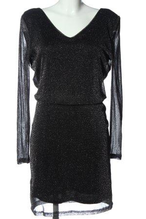 Vila Clothes Langarmkleid schwarz Elegant