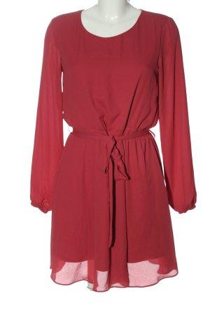 Vila Clothes Langarmkleid rot Casual-Look