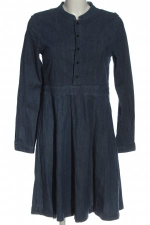 Vila Clothes Langarmkleid blau Casual-Look