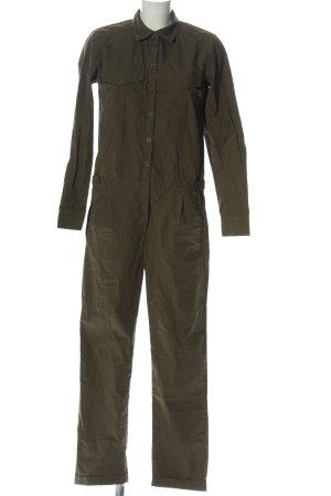 Vila Clothes Langer Jumpsuit khaki Casual-Look