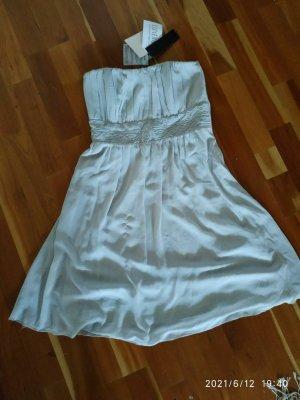 Vila Sukienka gorsetowa srebrny-jasnoszary