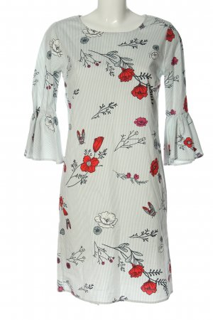 Vila Clothes Blusenkleid Allover-Druck Casual-Look