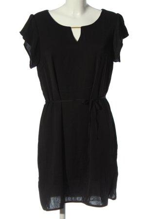 Vila Clothes Blusenkleid schwarz Allover-Druck Elegant