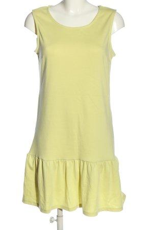 Vila Clothes Minikleid blassgelb Casual-Look
