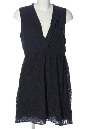 Vila Clothes Minikleid schwarz Casual-Look