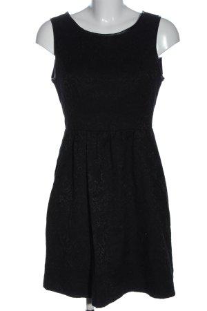 Vila Clothes Minikleid schwarz Mustermix Casual-Look