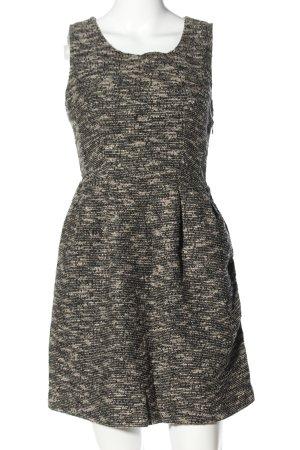 Vila Clothes Minikleid hellgrau meliert Casual-Look