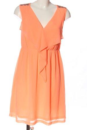 Vila Clothes Minikleid hellorange Elegant
