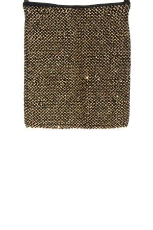 Vila Clothes Minirock goldfarben Elegant