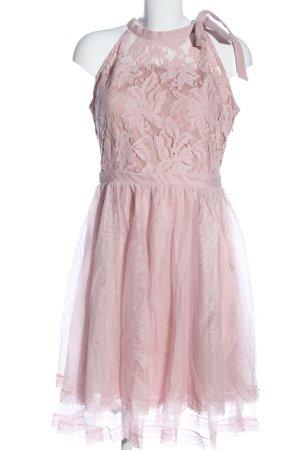 Vila Clothes Halterjurk roze bloemenprint elegant