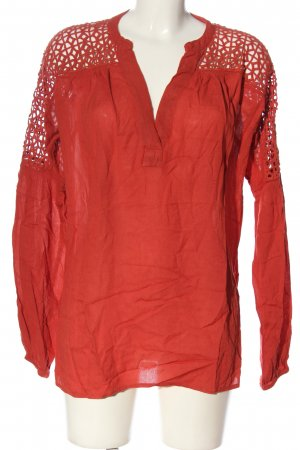 Vila Clothes Blusa ancha rojo look casual