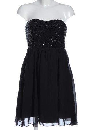 Vila Clothes Pailettenkleid schwarz Elegant