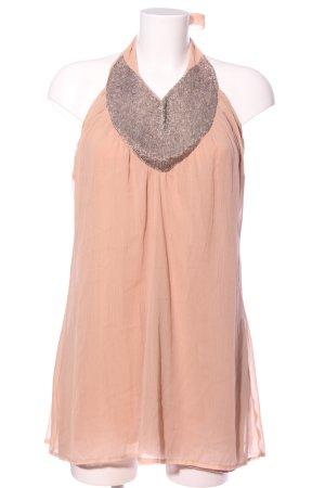 Vila Clothes Sequin Dress nude-light grey casual look