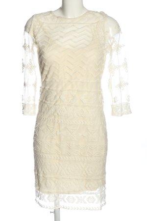 Vila Clothes Spitzenkleid weiß Elegant