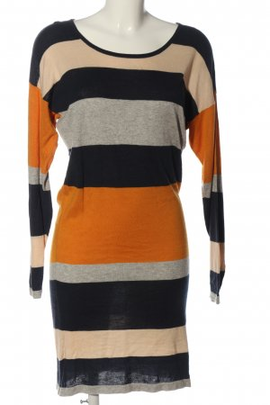 Vila Clothes Pulloverkleid Streifenmuster Casual-Look