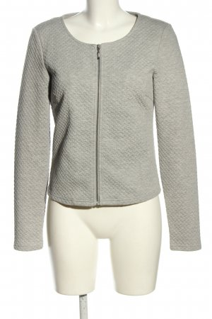 Vila Clothes Ripstop Jacket light grey business style