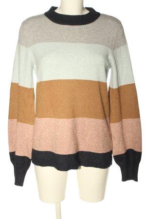 Vila Clothes Rundhalspullover Farbverlauf Casual-Look
