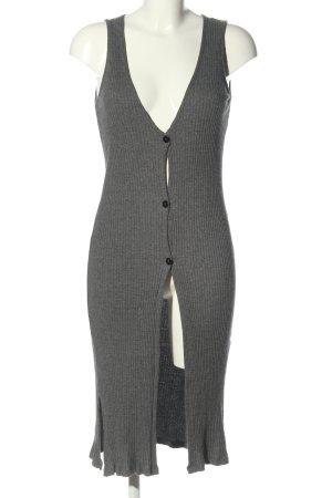 Vila Clothes Vestido de tubo gris claro look casual