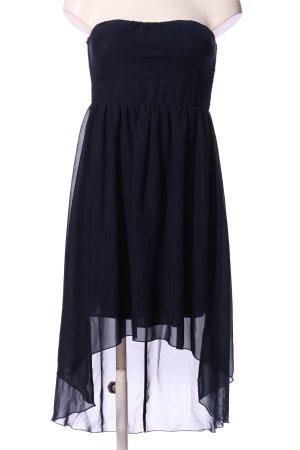 Vila Clothes schulterfreies Kleid blau Elegant