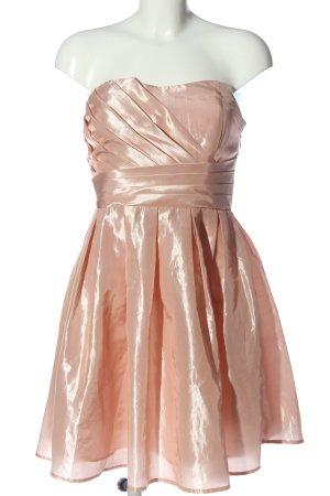 Vila Clothes schulterfreies Kleid pink Elegant