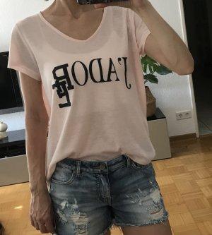 Vila Oversized shirt rosé Viscose