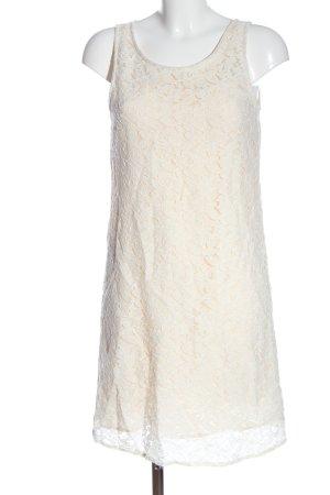 Vila Clothes Spitzenkleid wollweiß-creme Elegant