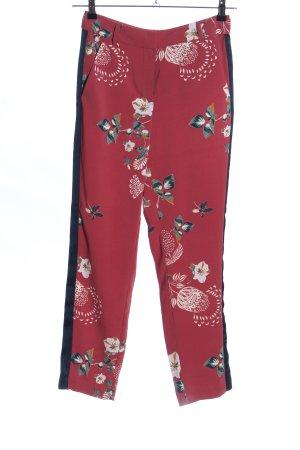 Vila Clothes Stoffhose Blumenmuster Casual-Look