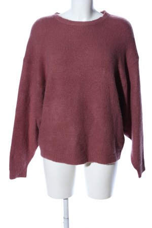 Vila Clothes Strickpullover rot Casual-Look