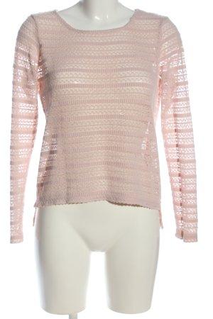 Vila Clothes Camisa tejida rosa look casual