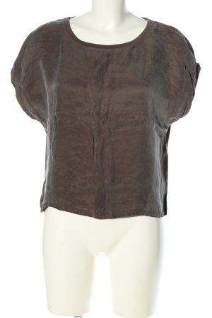 Vila Clothes T-Shirt braun Casual-Look
