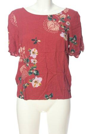 Vila Clothes T-Shirt Blumenmuster Casual-Look