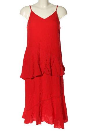 Vila Clothes Trägerkleid rot Elegant