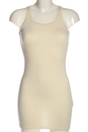 Vila Clothes Top lungo crema stile casual