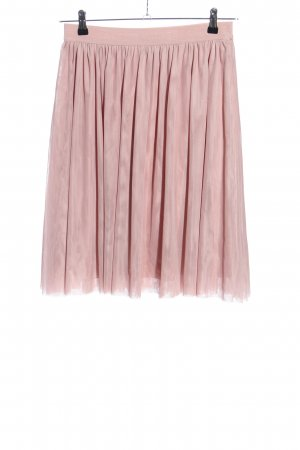 Vila Clothes Tulle Skirt pink casual look