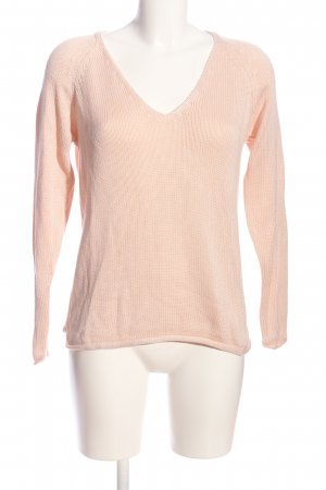 Vila Clothes V-Ausschnitt-Pullover pink Casual-Look