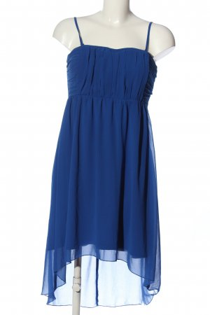 Vila Clothes Vestido mullet azul look casual