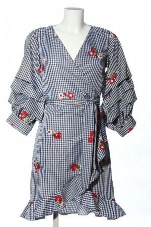 Vila Clothes Wraparound flower pattern casual look